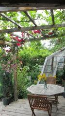 Домик в арт-усадьбе. Персональная терраса+кухня, 30 кв.м. на 4 человека, 1 спальня, Солнечная улица, 15, Алупка - Фотография 3
