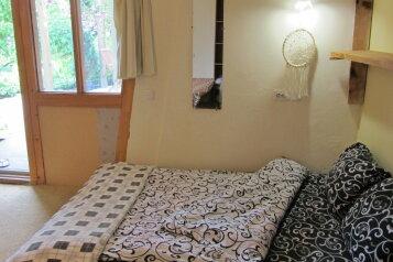 Домик в арт-усадьбе. Персональная терраса+кухня, 14 кв.м. на 4 человека, 1 спальня, Солнечная улица, 15, Алупка - Фотография 1
