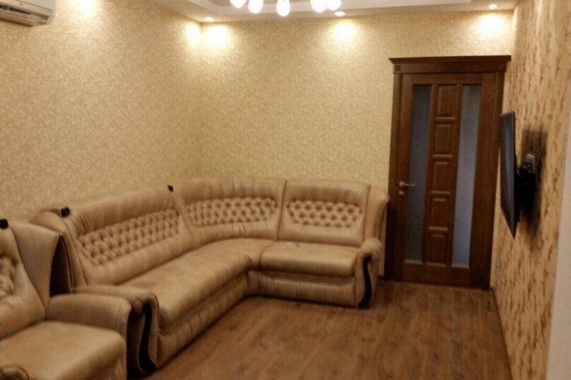 2-комн. квартира, 60 кв.м. на 5 человек, улица Репина, 1Б, Севастополь - Фотография 2
