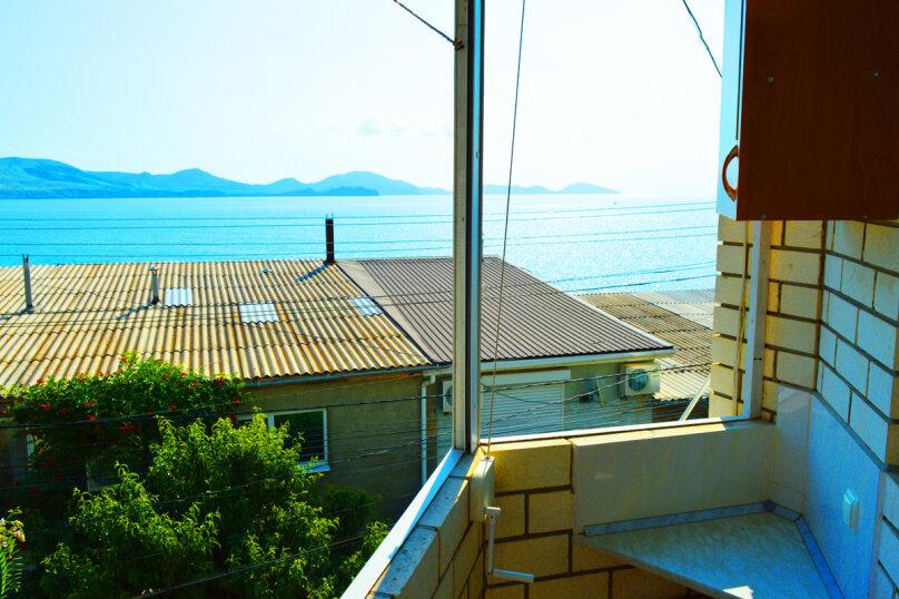 Двухместный с балконом видом на море на 3 этаже, Набережная улица, 2, Коктебель - Фотография 1