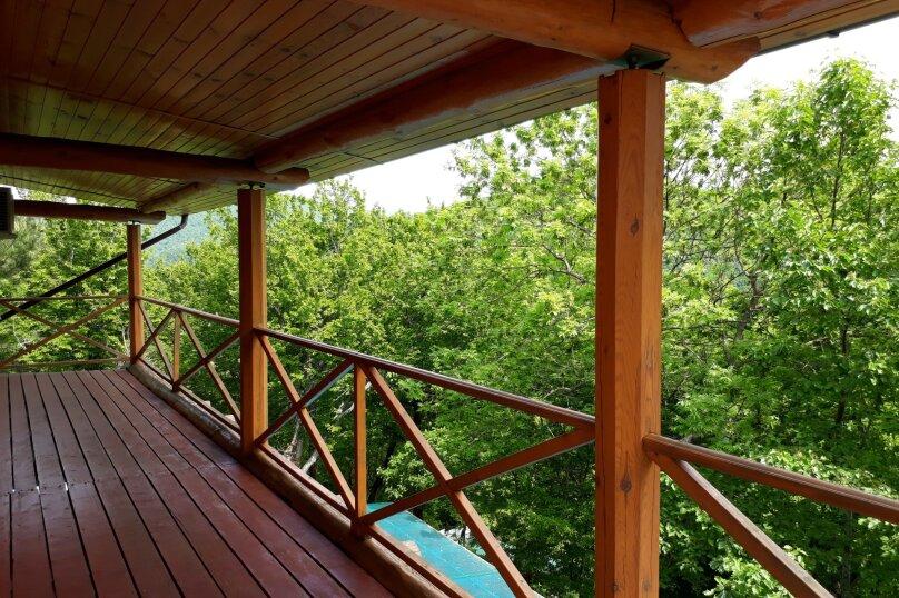 Дом бревенчатый в лесу, у моря, с бассейном., 110 кв.м. на 6 человек, 2 спальни, с\т Гранат, 86А, Туапсе - Фотография 9