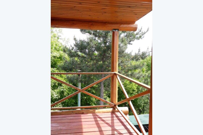 Дом бревенчатый в лесу, у моря, с бассейном., 110 кв.м. на 6 человек, 2 спальни, с\т Гранат, 86А, Туапсе - Фотография 10
