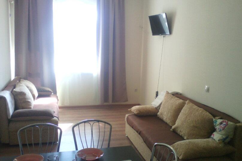 1-комн. квартира, 35 кв.м. на 5 человек, Ялтинская улица, 4к2, село Сукко - Фотография 5