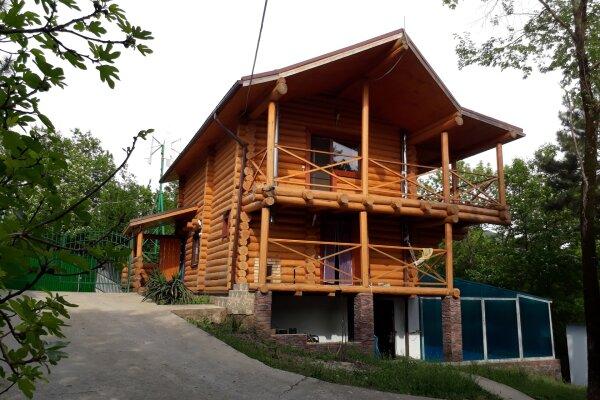 Дом бревенчатый в лесу, у моря, с бассейном., 110 кв.м. на 6 человек, 2 спальни, с\т Гранат, 86А, Туапсе - Фотография 1