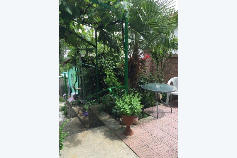 Дом конд.2+2кухня10мин до моря с тихим уютным  зеленым двором. Сдается по СУТОЧНО, 40 кв.м. на 4 человека, 1 спальня, Таврическая улица, 36, Алушта - Фотография 4