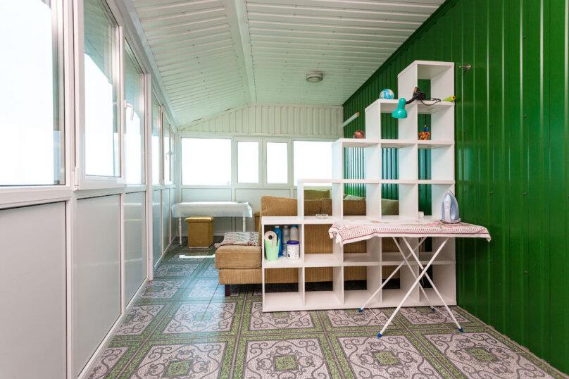 Комфортабельный видовой номер, 50 кв.м. на 4 человека, 1 спальня, шоссе свободы, 15 б, Алупка - Фотография 14