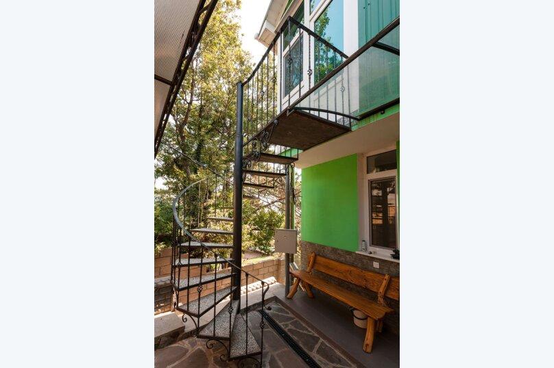 Комфортабельный видовой номер, 50 кв.м. на 4 человека, 1 спальня, шоссе свободы, 15 б, Алупка - Фотография 15