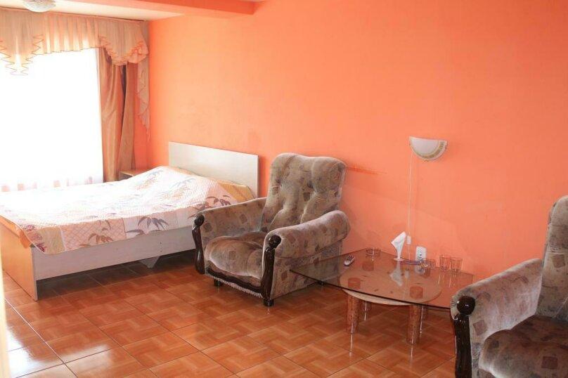 Комфорт Семейный с двумя двуспальными кроватями, Новороссийская улица, 7, Барнаул - Фотография 1