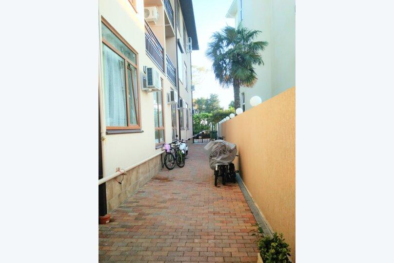2-комн. квартира, 45 кв.м. на 5 человек, южных культур , 10 А, Сочи - Фотография 11