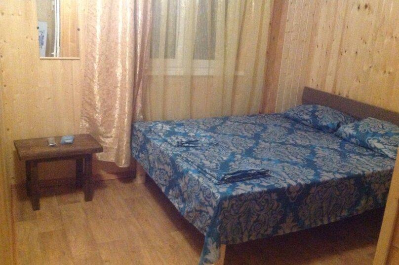 Стандарт двухместный с двуспальной кроватью на 2м этаже, улица Победы, 344, Лазаревское - Фотография 1