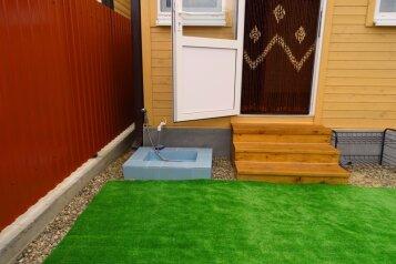 2-ух этажный деревянный домик , 48 кв.м. на 6 человек, 2 спальни, Прибрежная улица, Голубицкая - Фотография 2