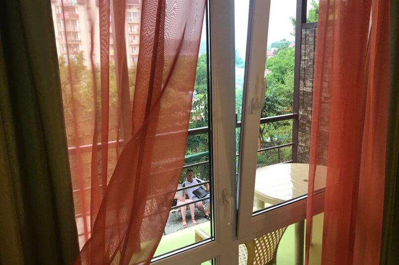 Двухместный люкс с балконом и видом на море, Портовая улица, 15/2, Джубга - Фотография 10