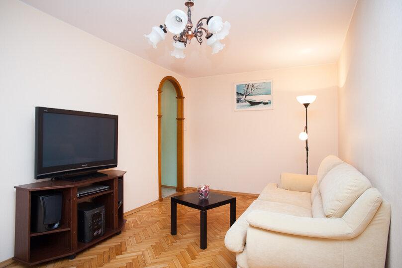 2-комн. квартира, 44 кв.м. на 4 человека, Нагорная улица, 29к3, метро Нагорная, Москва - Фотография 2
