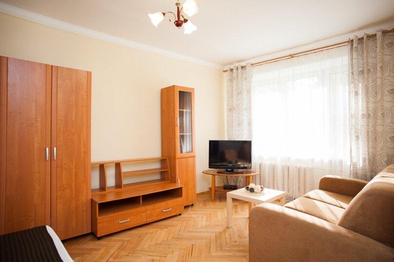 1-комн. квартира, 35 кв.м. на 4 человека, Скаковая улица, 4к2, метро Белорусская, Москва - Фотография 3