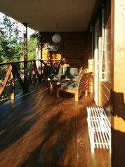 Деревянный коттедж №4, 37 кв.м. на 5 человек, 2 спальни, Приморская, 42, Благовещенская - Фотография 2