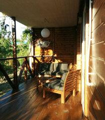 Деревянный коттедж №4, 37 кв.м. на 5 человек, 2 спальни, Приморская, 42, Благовещенская - Фотография 1