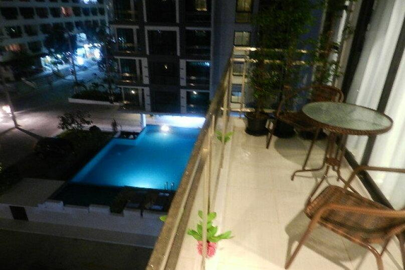 2-комн. квартира, 60 кв.м. на 4 человека, Thappraya, 511/33, Паттайя - Фотография 3