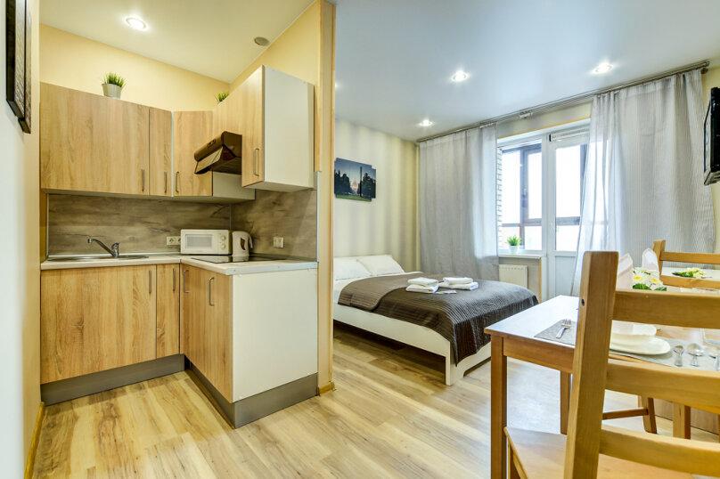 1-комн. квартира, 28 кв.м. на 2 человека, Коломяжский проспект, 15к2, Санкт-Петербург - Фотография 5