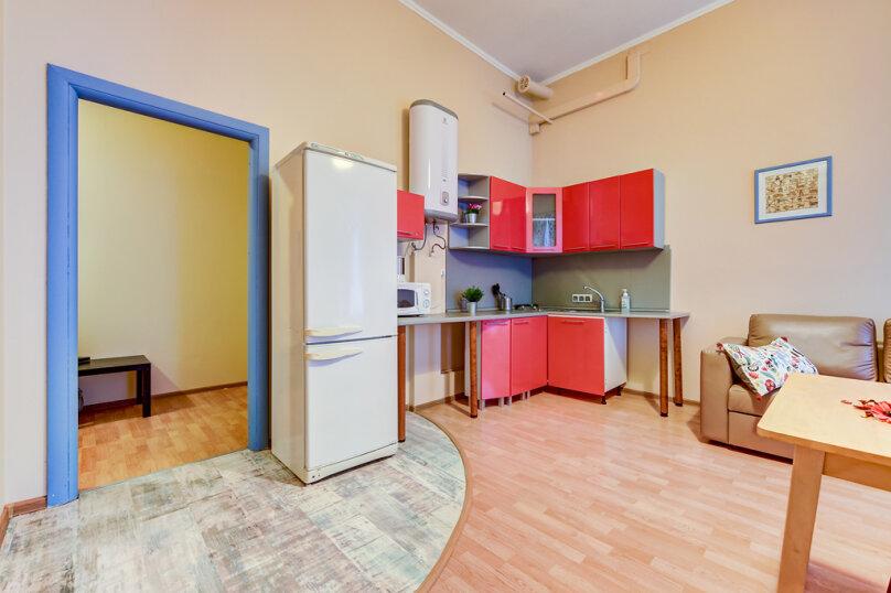 1-комн. квартира, 48 кв.м. на 6 человек, Каменноостровский проспект, 59, метро Петроградская, Санкт-Петербург - Фотография 16