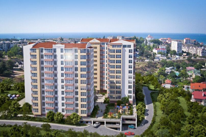 1-комн. квартира, 44 кв.м. на 3 человека, улица Репина, 1Б/2, Севастополь - Фотография 10