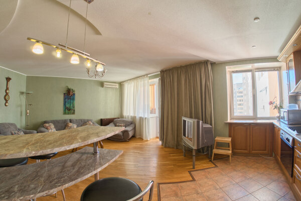 2-комн. квартира, 54 кв.м. на 4 человека, Полтавская улица, 47, Нижний Новгород - Фотография 1