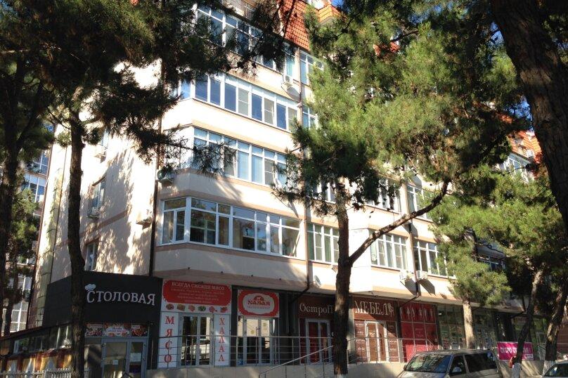 2-комн. квартира, 53 кв.м. на 6 человек, улица Островского, 67Г, Геленджик - Фотография 10