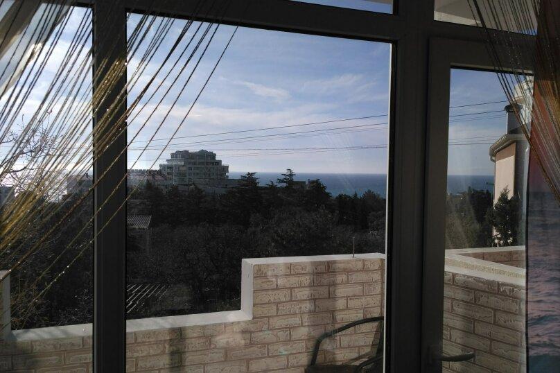 2-комн. квартира на 4 человека, Алупкинское шоссе, 52, Гаспра - Фотография 16