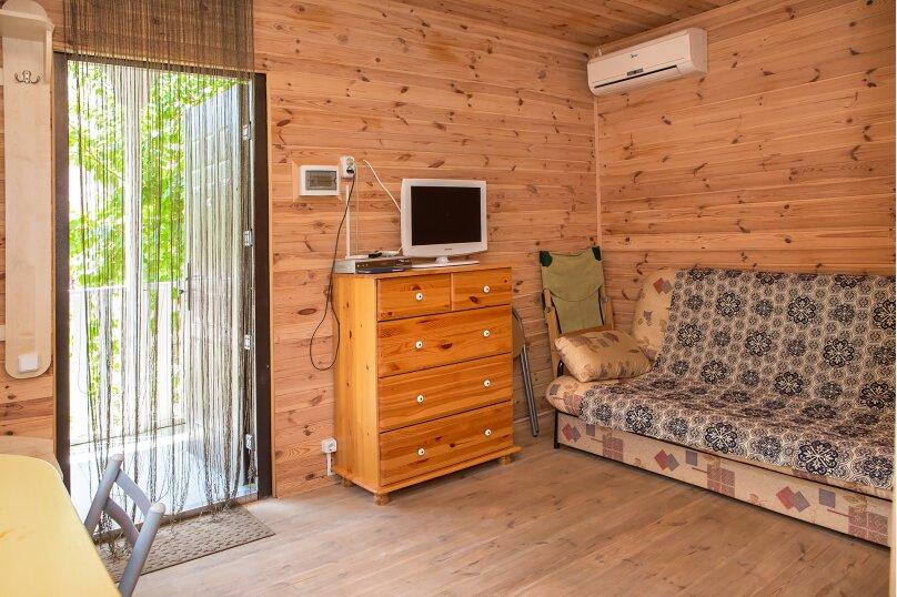 Летний домик 2, 30 кв.м. на 4 человека, 1 спальня, улица Космонавтов, 26, Форос - Фотография 6