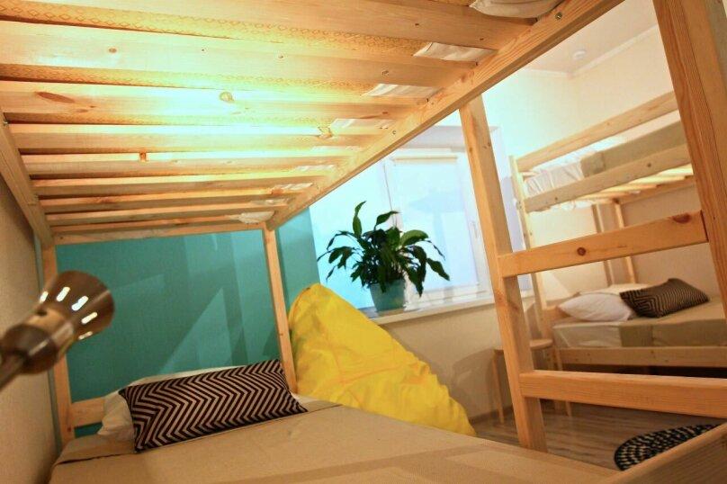 Кровать в общей 6-местной комнате, улица Ленина, 31А, Дивноморское - Фотография 3