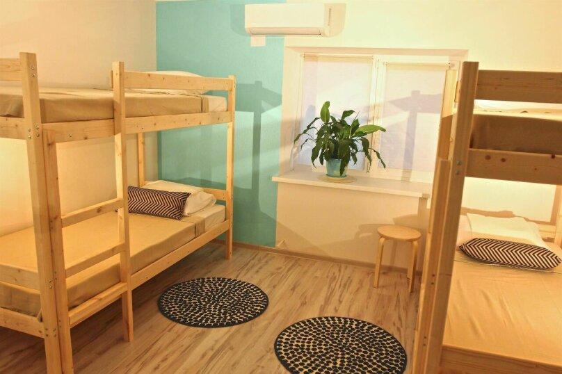 Кровать в общей 6-местной комнате, улица Ленина, 31А, Дивноморское - Фотография 4
