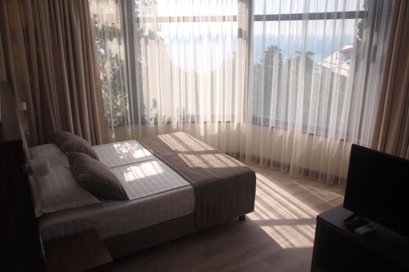 Однокомнатный с панорамным видом и балконом, Алупкинское шоссе, 15, Кореиз - Фотография 5