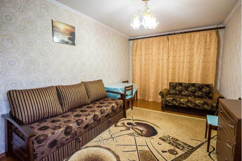 1-комн. квартира, 35 кв.м. на 5 человек, переулок Иванова, 5А, Алушта - Фотография 2