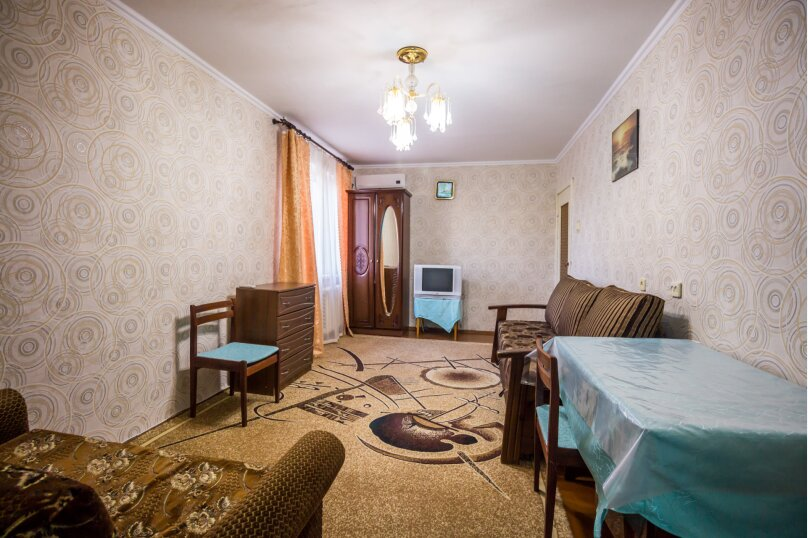 1-комн. квартира, 35 кв.м. на 5 человек, переулок Иванова, 5А, Алушта - Фотография 3
