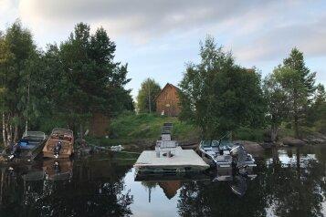 Коттедж на 8 человек, 3 спальни, в 50 метрах от Лоухского озера, -, Лоухи - Фотография 3