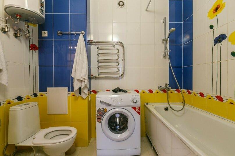2-комн. квартира на 6 человек, улица Братьев Коростелёвых, 152, Самара - Фотография 12