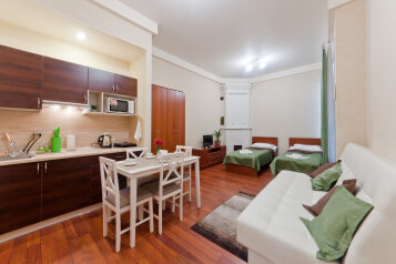 Семейные апартаменты:  Квартира, 4-местный, 1-комнатный, Апарт-отель Франт, Невский проспект, 108 на 4 номера - Фотография 3