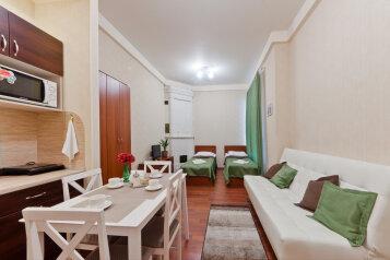 Семейные апартаменты:  Квартира, 4-местный, 1-комнатный, Апарт-отель Франт, Невский проспект, 108 на 4 номера - Фотография 4