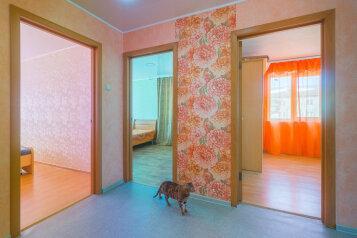 3-комн. квартира, 63 кв.м. на 7 человек, улица Сталеваров, 6, Правобережный район, Магнитогорск - Фотография 2