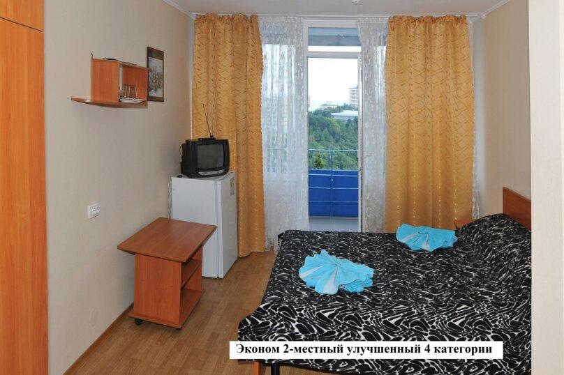 Эконом 2-местный улучшенный 4 категории, Комсомольская улица, 7, Алушта - Фотография 1