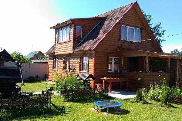 Зимний дом с баней и камином, 120 кв.м. на 12 человек, 2 спальни, 1-я линия, 11, Никольское - Фотография 1