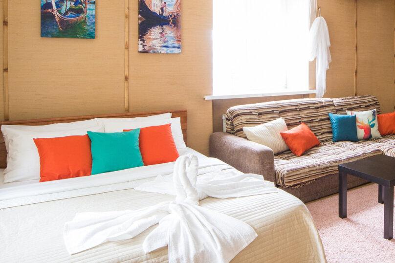 1-комн. квартира, 34 кв.м. на 4 человека, проспект Карла Маркса, 34, Омск - Фотография 1