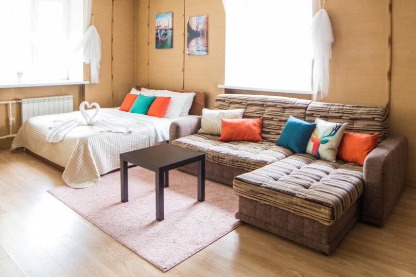 1-комн. квартира, 34 кв.м. на 4 человека, проспект Карла Маркса, 34, Омск - Фотография 13