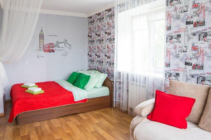1-комн. квартира, 33 кв.м. на 3 человека, Спортивный проезд, 10, Омск - Фотография 1