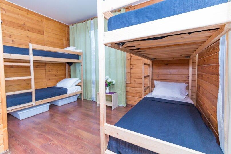 Кровать в общем номере на 4 человека, 3-я Мякининская улица, 32А лит.Б, метро Мякинино, Москва - Фотография 1