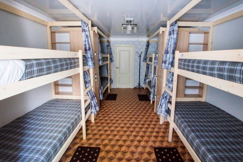 Кровать в общем 8-местном номере для мужчин, улица Ефремова, 28, Севастополь - Фотография 1