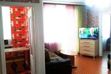 2-комн. квартира, 50 кв.м. на 6 человек, Советская улица, 24, поселок Приморский, Феодосия - Фотография 1