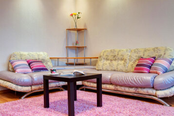 2-комн. квартира, 60 кв.м. на 6 человек, улица Алексеева, Красноярск - Фотография 4