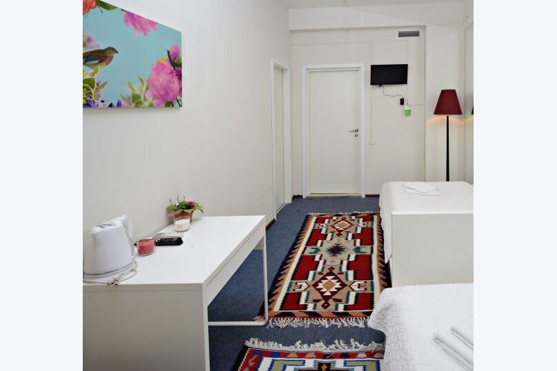 Двухместный номер эконом-класса с 2 отдельными кроватями, улица Петровка, 17с5, Москва - Фотография 4