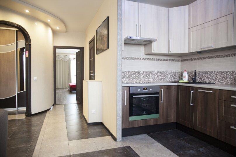 2-комн. квартира, 68 кв.м. на 4 человека, Коммунальная улица, 1, Петрозаводск - Фотография 3