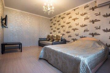 1-комн. квартира, 45 кв.м. на 4 человека, улица Жлобы, 139, Краснодар - Фотография 1